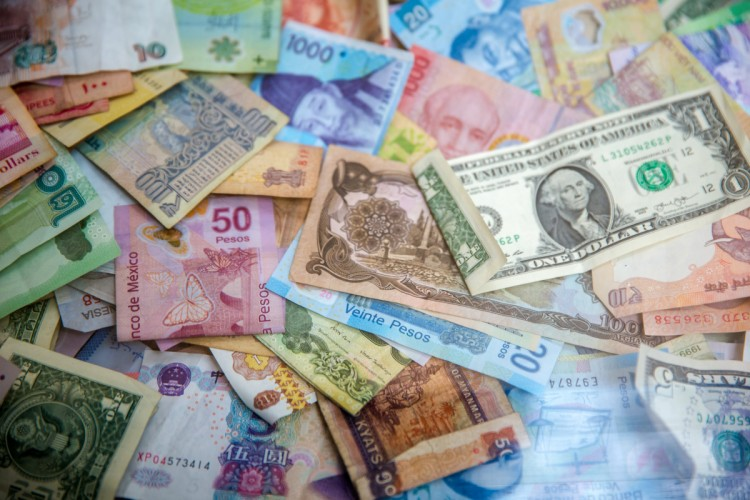 Foreign Exchange Rates from Exchange Data International in Economy (World)