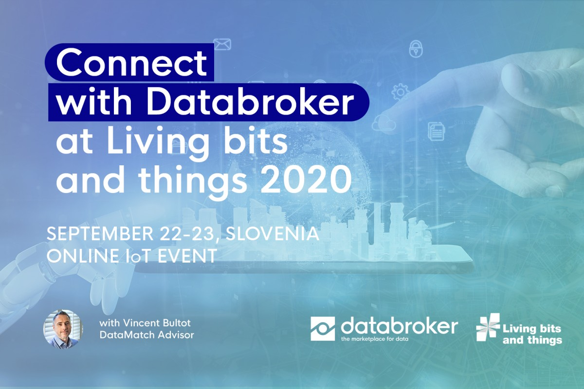 Databroker to Present at Living Bits and Things on The Importance of Data Exchange to the Smart Buildings Ecosystem